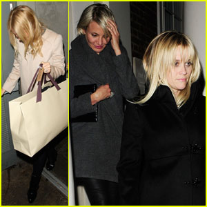 Gwyneth Paltrow, Reese Witherspoon & Cameron Diaz: London Ladies