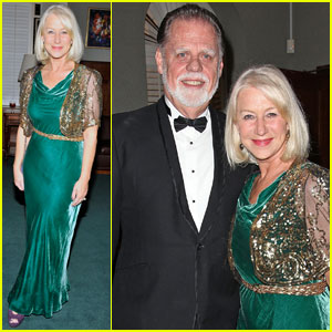 Helen Mirren: Scripter Awards With Taylor Hackford!