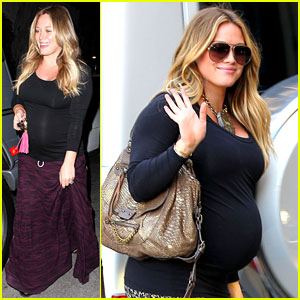 Hilary Duff: Baby Bump Feels Like a Beach Ball!