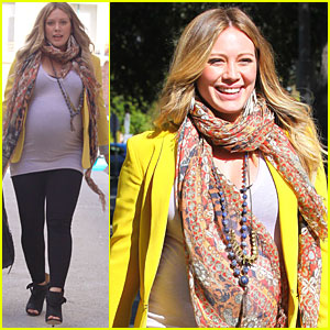 Hilary Duff: I Love My Yellow Blazer!