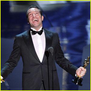 Jean Dujardin Wins Oscars' Best Actor!