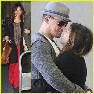 Channing Tatum & Jenna Dewan: Kiss Kiss!