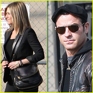 Jennifer Aniston: 'Kimmel' with Justin Theroux!