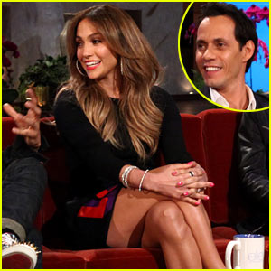 Jennifer Lopez & Marc Anthony Talk Working Together on 'Ellen'