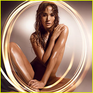 Jennifer Lopez: Naked for New Fragrance Ad!