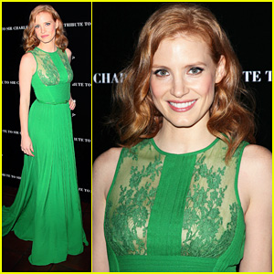 Jessica Chastain: Charlie Chaplin's 40th Anniversary!