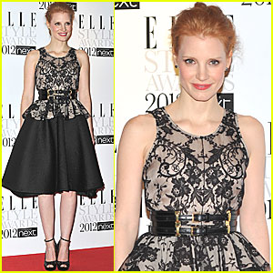 Jessica Chastain - Elle Style Awards