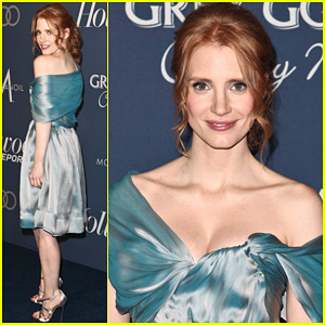 Jessica Chastain: THR's Nominees Night 2012!
