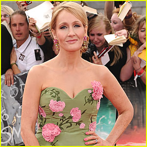 J.K. Rowling Publishing Book for Adults