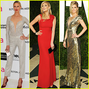 Kate Upton, Irina Shayk & Marisa Miller - Oscar After Parties!