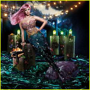 Katy Perry: Mermaid for GHD Ads!