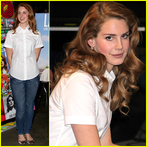Lana Del Rey: Amoeba Music Hollywood Signing!