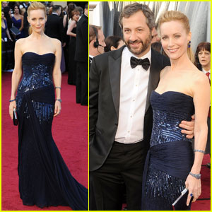 Leslie Mann & Judd Apatow - Oscars 2012 Red Carpet
