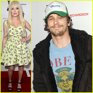 Lindsay Lohan & James Franco: Terrywood Opening!