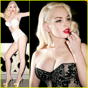 Lindsay Lohan: 'Love Magazine' Outtake Pictures!