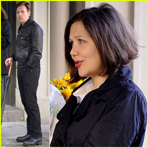 Maggie Gyllenhaal and Ewan McGregor: Wet On Set