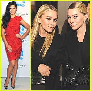 Mary-Kate & Ashley Olsen: QVC Fashion Week Presentation!