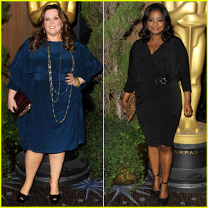 Melissa McCarthy & Octavia Spencer: Academy Awards Nominations Luncheon