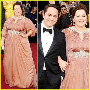 Melissa McCarthy - Oscars 2012 Red Carpet