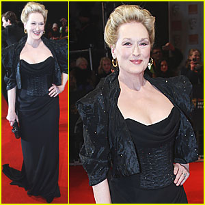 Meryl Streep - BAFTAs 2012 Red Carpet