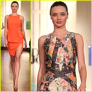 Miranda Kerr: Runway Show for David Jones!