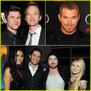Neil Patrick Harris, Kellan Lutz & Aaron Paul: Audi Party People!