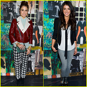 Nikki Reed & Shenae Grimes: Tracy Reese Fashion Presentation!