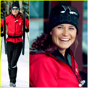 Pippa Middleton Preps for 56-Mile Ski Marathon