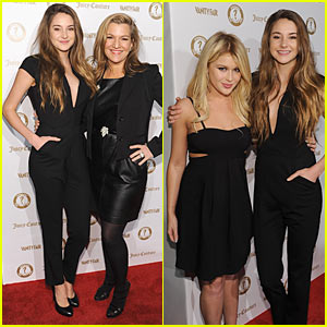 Shailene Woodley Hosts Vanity Fair's 'Vanities' Party