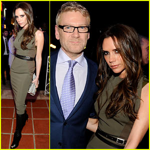 Victoria Beckham: Great British Film Reception!