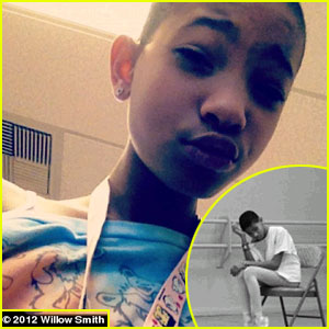 Willow Smith: Shaved