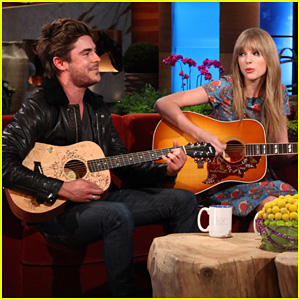 Zac Efron &#038; Taylor Swift: Duet on Ellen!
