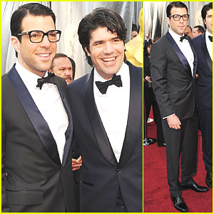 Zachary Quinto - Oscars 2012 Red Carpet