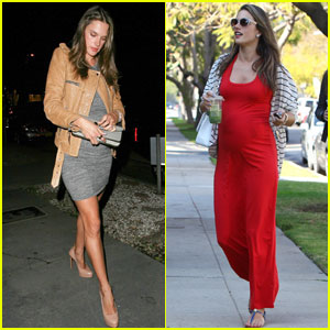 Alessandra Ambrosio Already Planning Post-Pregnancy Gigs