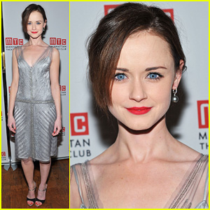 Alexis Bledel: 'Regrets' Off-Broadway Opening!