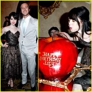 Armie Hammer: 'Mirror, Mirror' After-Party with Lily Collins!