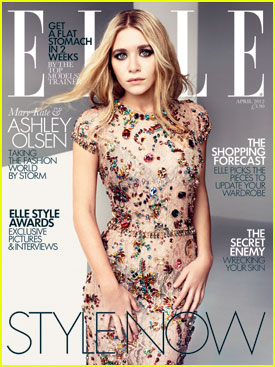 Mary-Kate & Ashley Olsen Cover 'Elle UK' April 2012