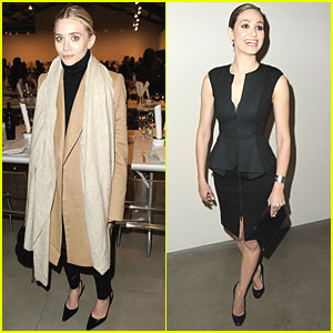 Ashley Olsen & Emmy Rossum: Precognito Gala in Santa Monica!