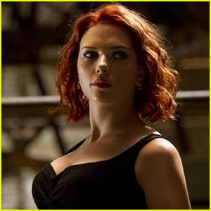Scarlett Johansson: New 'Avengers' Stills!