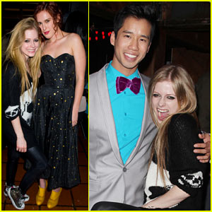 Avril Lavigne &#038; Rumer Willis: Just Jared's 30th Birthday Bash!
