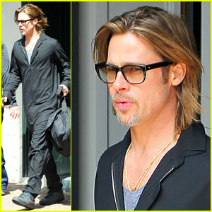 Brad Pitt: Morning After 'Make it Right' Gala