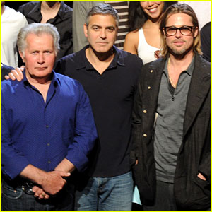 Brad Pitt in '8' - Live Stream &#038; Rehearsal Pics!