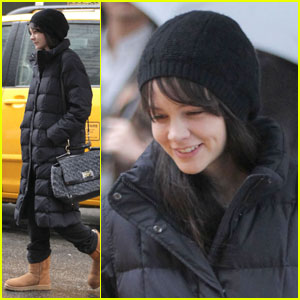 Carey Mulligan: Smiling on 'Llewyn' Set