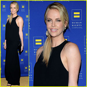 Charlize Theron: HRC Los Angeles Gala!