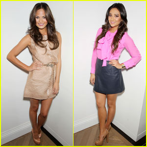 Chrissy Teigen &#038; Shay Mitchell: Raoul Shop Launch!