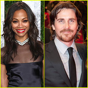 Christian Bale & Zoe Saldana: 'Out of the Furnace' Stars?