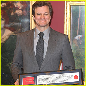Colin Firth: Freeman Honor in London!