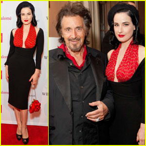 Dita Von Teese: Wilde Salome After Party!