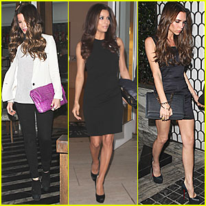 Eva Longoria: Birthday with Victoria Beckham & Kate Beckinsale!