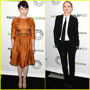 Ginnifer Goodwin & Jennifer Morrison: PaleyFest Duo!